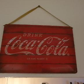 Coca Cola Emaljeskilt. Kom med bud!