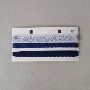 Chocker dunkelblau, mittelblau und grau.Preis inklusiv Porto 🌸
