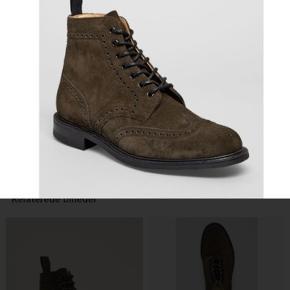Top kvalitet støvle fra Church's, model caldecott 2 boot. Farven er nuance af grå.  Læs mere om støvlen på sidste billede Nypris Ca. 5000 Kom med et realistisk bud