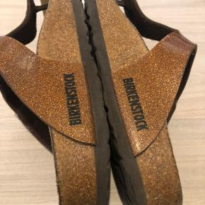 BYD BYD BYD Birkenstock sandaler med glimmer