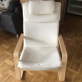 IKEA Lænestol, råhvid