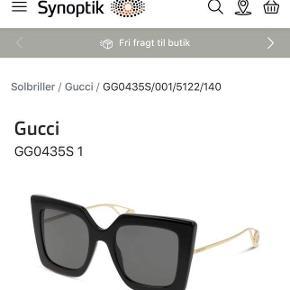 Sælger mine smukke Gucci solbriller. Brugt få gange. Ingen tegn på slid