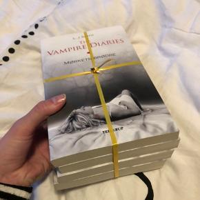 The vampire diaries bøger nummer 1,2,3 og 4