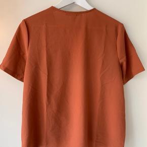 Fin wrap top i rust orange