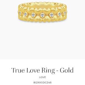 Julie Sandlau True Love ring i str 58 sælges