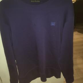 acne sweatshirt blue