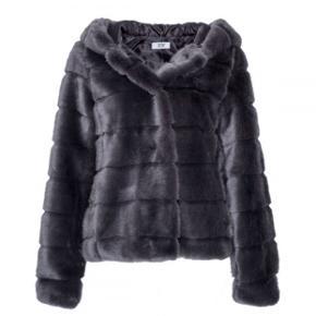 Faux fur jakke fra Tiffany. Str. m.