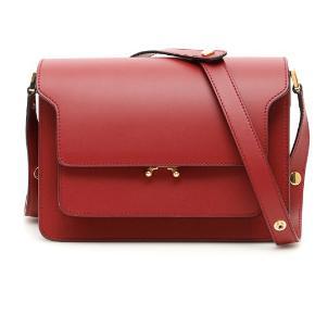 Helt ny Marni trunk i en smuk rød farve. Tasken er helt ny og ligger stadig i dustbag.   Kvittering og dustbag medfølger naturligvis.