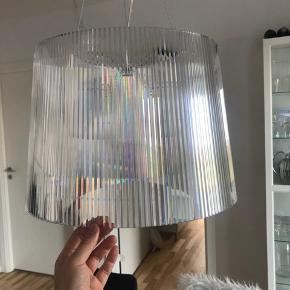 Kartell Gé Pendel - Crystal lampe  Nypris 1700 kr