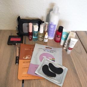 Forskellige beauty produkter. Aldrig brugt. Sælges samlet og afhentes i Nørresundby.