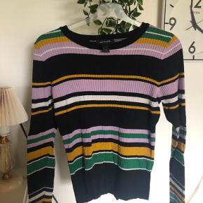 Sælger denne trøje fra Monki, da den bare ligger og ikke bliver brugt. Den er blevet brugt, men der er ingen tegn på slid.