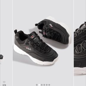 Fila sko str 37 men fitter 36, brugt en enkel gang så næsten som nye. Nypris 759, nuværende pris 300. Befinder sig i Hjørring