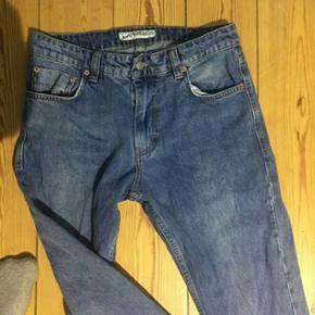 Just junkies denim jeans bukser lyse blå vask brugt 2 gange  Cond 9 Str 31 / 32 w l Mødes i Århus eller sendes