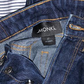 Blå Monki jeans. Waist 27.