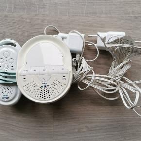 Avent babyalarm  Fejler ikke noget  Babydelen kan også spille rolige melodier og fungere som natlampe