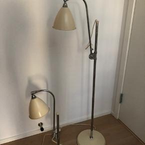 Bestlite gulvlampe og bordlampe. Farven er creme farvet. Meget fin stand, stort set ingen brugsspor. Sælges samlet.