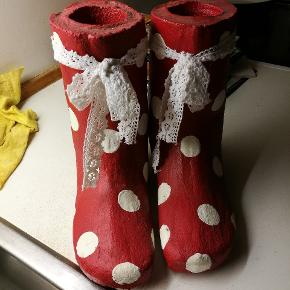 Støvler lavet beton