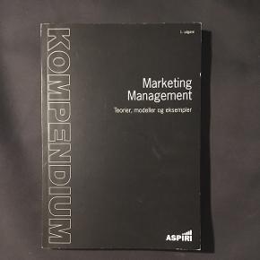 Marketing Management - teorier, modeller og eksempler af Aspiri   BYD