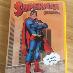 Superman dvd tegnefilm  - fast pris -køb 4 annoncer og den billigste er gratis - kan afhentes på Mimersgade 111 - sender gerne hvis du betaler Porto - mødes ikke ude i byen - bytter ikke