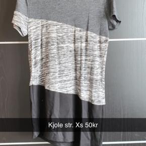 Fin kjole med strå detalje