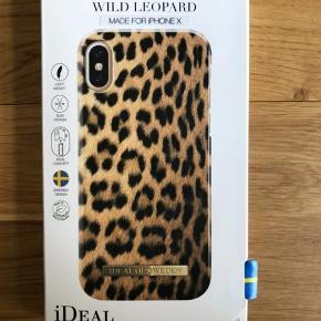 Ideal of Sweden leopard cover IPhone x  Aldrig brugt  Førpris 249kr.