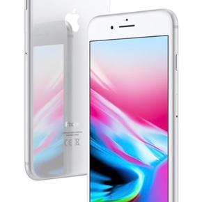 Jeg overvejer at sælge min IPhone 8, 64GB, silver, da jeg gerne vil have en anden telefon.  Den har en lille rids på forskærmen, det ligger man dog stort ikke mærke til. Derudover er glasset på bagkameraet gået i stykker, kameraet virker dog stadig, og tager billeder i fin kvalitet. Hvad kan jeg mon få for denne?   Billedet er brugt som inspiration.