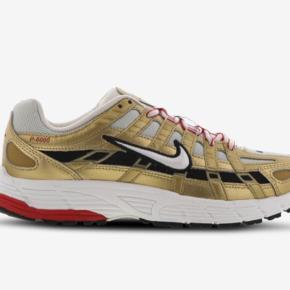 Super cool P 6000 sneakers i guld/rød/sort. Prisen er pp og ts