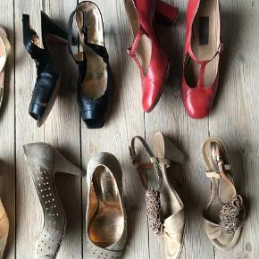 Brand: Gabor, Bianco mm. Varetype: Sko oprydning. Gode mærker i skind. BILLIGT!!! Farve: Beige,Guld,Rød,Sort Oprindelig købspris: 999 kr.  Skooprydnibg. Mange fine sko og nogle nærmest ubrugte. Sendes med DAO