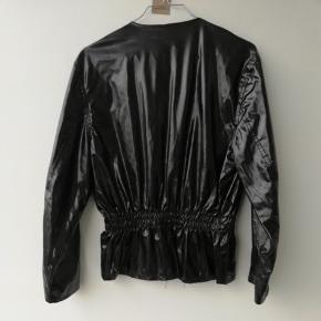 Vintage lak jakke str s/m
