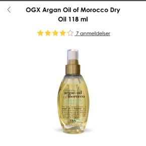 Super lækker Argan oil fra Ogx 😍👱🏼♀️ giver håret masser af shine og blødhed. Nypris 100kr