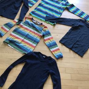 5 t shirt samlet pris 75kr Str.122-128