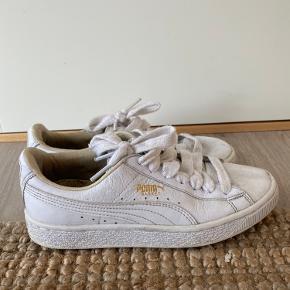 Byd gerne hvide puma sko