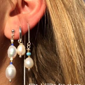 🌸Hjemmelavede øreringe🌸 Priserne står på billederne  Husk, at fu selv kan designe dine egne smykker