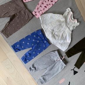 Blandet tøj blandet str fra 0-3 mdr