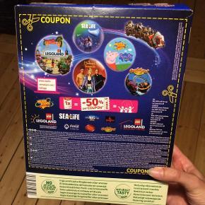 50% kupon til LEGOLAND 1-dagsbillet (max. 5 personer)- gyldig til og med 31/5-19 Kig gerne mine andre annoncer også tak :-)