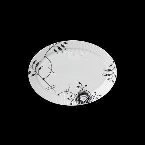 Oval tallerken, 28 cm