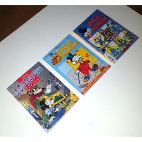 2 stk Onkel Joakim nr. 7/1993 og nr. 20/1996   1 stk Adventure serier nr. 3/1998    Hvis man godt kan lide Anders And, så er disse lige noget for dig.     Bare byd  Afhentes i Odense N eller sendes på købers regning.