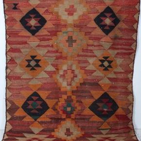 Ægte nomad tæppe, købt på auktionshus i Sverige. Utrolig smukt.