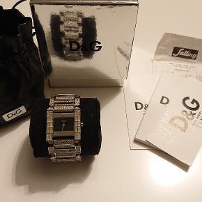 Dolce & Gabbana Ur, God, men brugt. Aarhus - Dolce & Gabbana Ur, Aarhus. God, men brugt, Brugt en periode og har derfor mindre tegn på brug