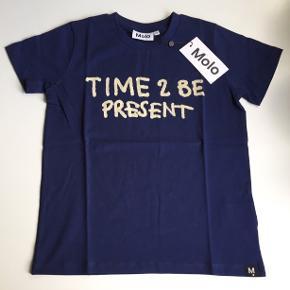 Molo T-shirt str 128, ny med mærke. Np 200,-