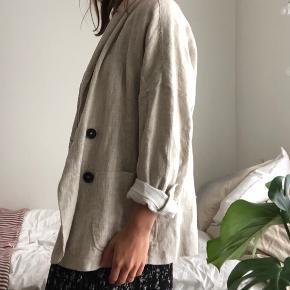 Oversized blazer from linen   #Secondchancesummer
