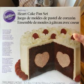 Wilton kage form med hjerte-midte   Aldrig brugt   Kan hentes i KBH