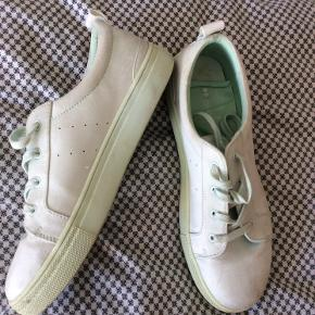 Turkis/mint farvede sneakers