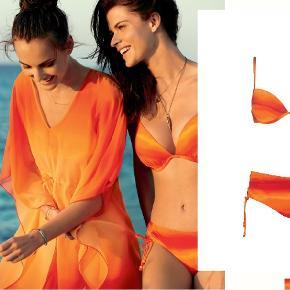 Sloggi Swim Lava Passion Hipster str. 38 PRODUKTINFORMATION Bikini trusser med dekorative snørelukninger. Slim fit Stretch stof Fugttransporterende MATERIALE: 72% POLYAMID, 28% ELASTANE, 88% POLYESTER, 12% ELASTANE   Sloggi Swim Lava Passion Ctowp Orange - Dark Combination D str. 70E PRODUKTINFORMATION Stretch pasform Justerbare spaghettistropper. Spænde bagtil Polstretde skåle MATERIALE: 72% POLYAMID, 28% ELASTANE, 100% POLYESTER