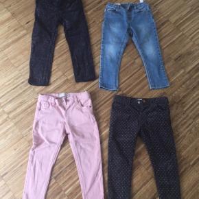 15,- kr pr par. H&M og Zara. Alle 4 par kun vasket. Ikke brugt.