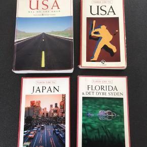 Rejsebøger Rejsen rundt i USA (USA On the Road ) 50kr Turen går til USA 20kr Turen går til Japan solgt Turen går til Florida og det dybe syden 20kr