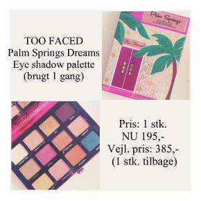 Brand: Too Faced Varetype: Eye shadow palette Farve: flere  Kun brugt 1 gang - stadig i æske ☀️