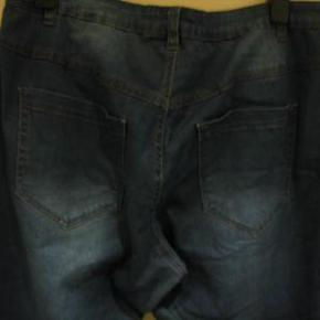 Zizzi jeans str 46 Livvidde 2x49 cm lille smule stræk i stoffet Indvendig benlængde 79 cm - 70 kr plus porto (m8622)  #Secondchancesummer