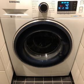 Samsung vaskemaskine købt okt 17 8 kg - 1400 omdrejninger, kulfri motor super god maskine med en bred vifte af programmer - hurtigste vask på bare 15 min Samsung vaskemaskine købt okt 17