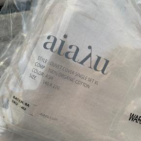 Helt nye Aiayu 140x220 cm sengetøj i farven Ash.